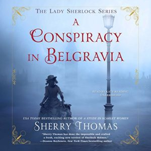 A Conspiracy in Belgravia Audio Cover