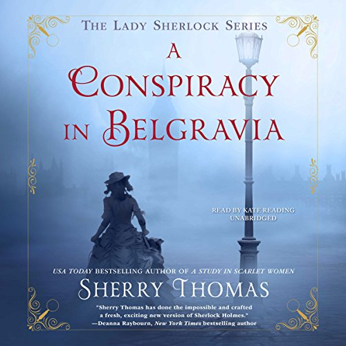 A Conspiracy in Belgravia Audio Cover